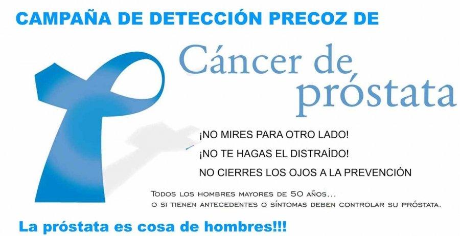 próstata común en hombres mayores